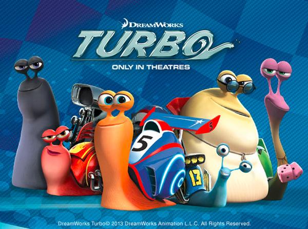 Turbo movie poster Dreamworks