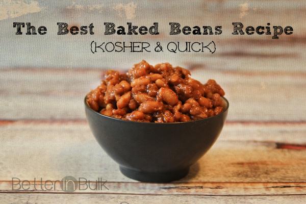 best baked beans kosher quick