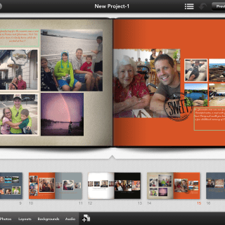 Shutterfly photo story app for iPad create photo books