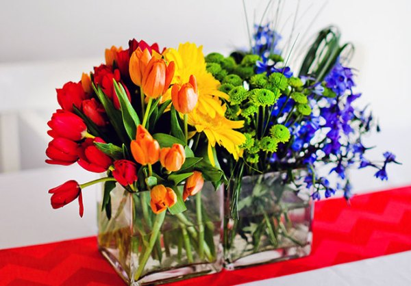 centerpiece ideas from evite gatherings