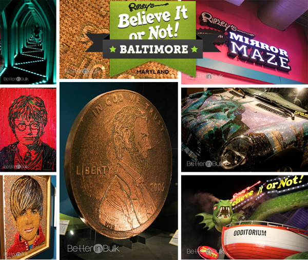 ripleys believe it or not odditorium in baltimore maryland