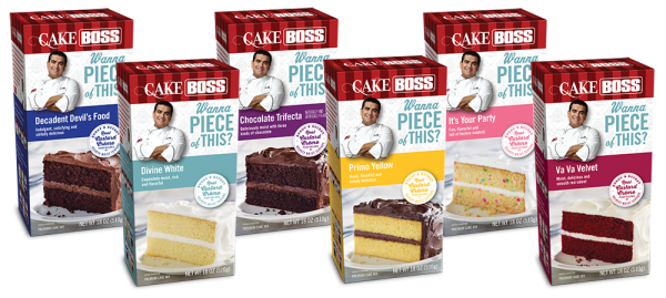 Cake Boss Cake Mixes