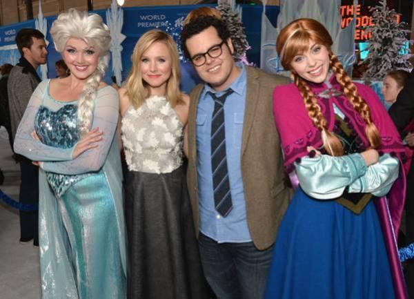 Disney Frozen white carpet party