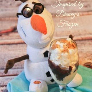 FROZEN Marshmallow S'mores Sundae #DisneyFrozenEvent