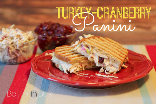 Turkey-Cranberry Panini {Thanksgiving Leftovers Recipe ...