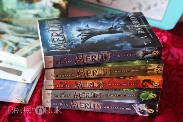 T A Barron Merlin Saga