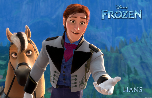Santino Fontana as Prince Hans in Disney's Frozen