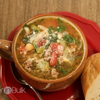 15 Minute Minestrone Soup