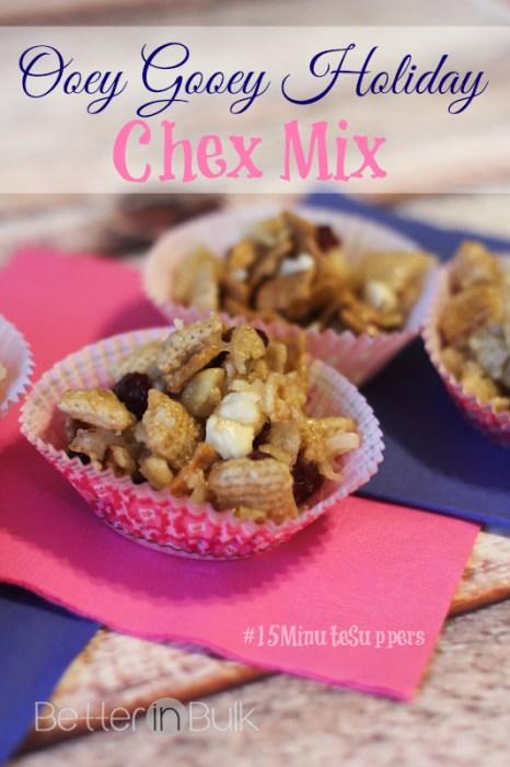 ooey gooey chex mix