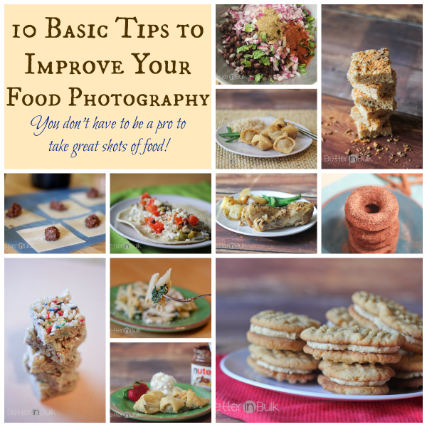 10 Easy Food Photography Tips