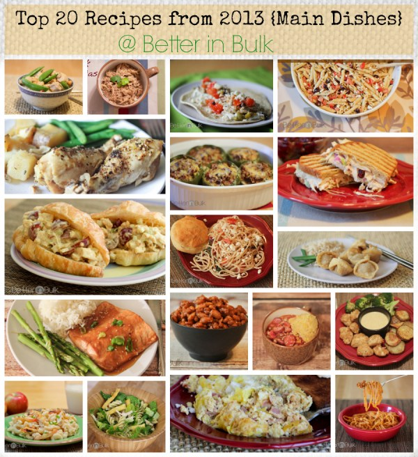 Top 20 Recipes from 2013