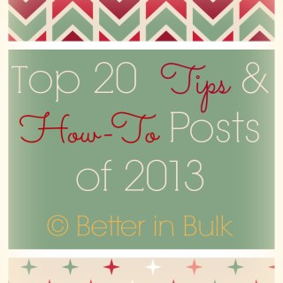 Top 20 Tips and How-To Posts from 2013
