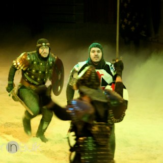 Medieval Times  – The Perfect Family New Year's Eve {PSF – Give Me Your Best Shot}