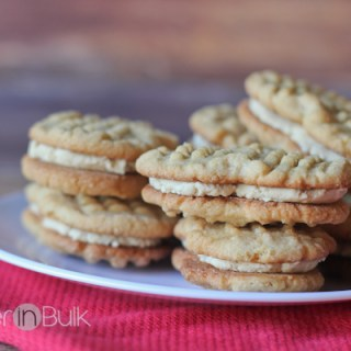 Copycat Nutter Butter Cookies