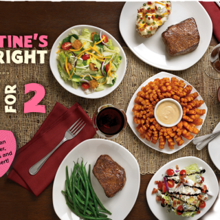 Outback Steakhouse Valentine's Day special