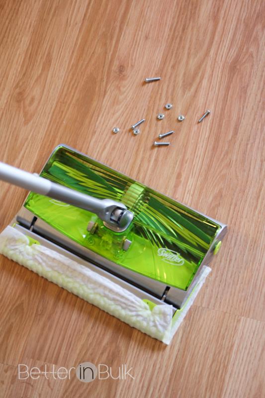 swiffer sweep & trap