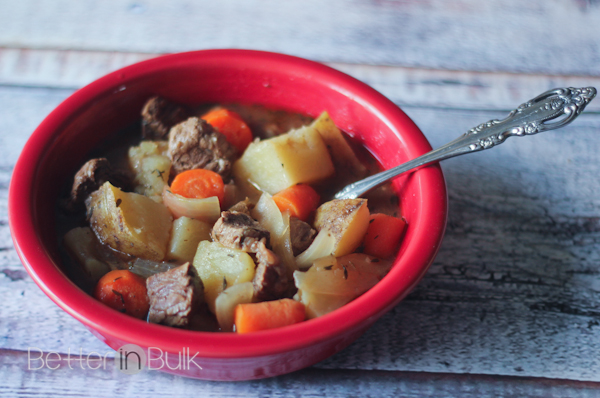 Irish Stew with Irish Soda Bread