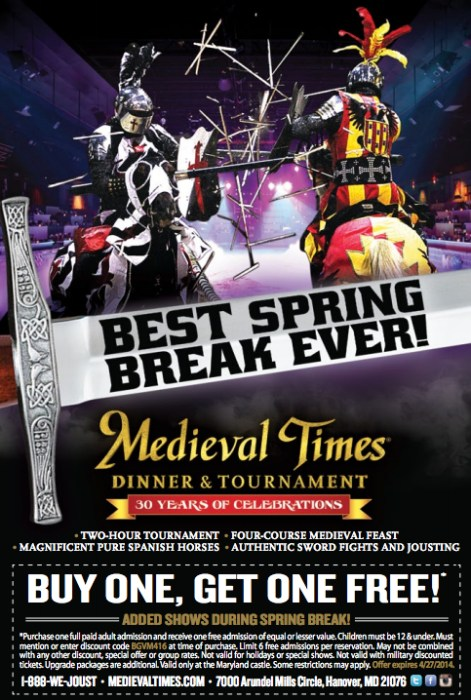 MedievalTimes-SpringBreak
