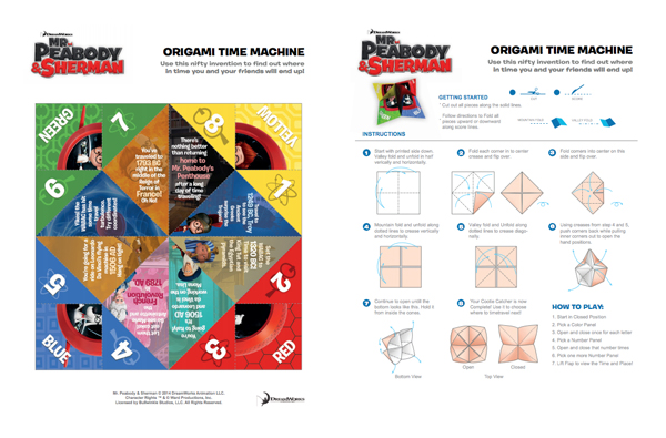 MrPeabodyandSherman-Origami