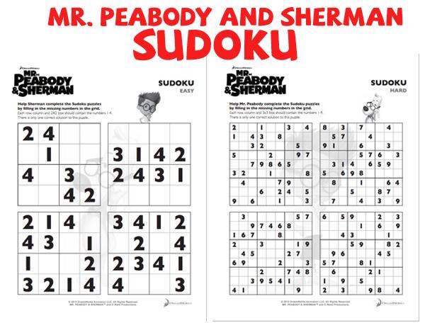 MrPeabodyandSherman-Sudoku