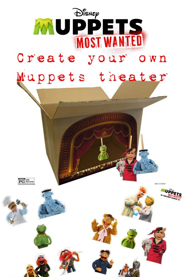 Create your own Muppets theater