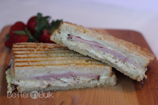 chicken cordon bleu paninis #15MinuteSuppers