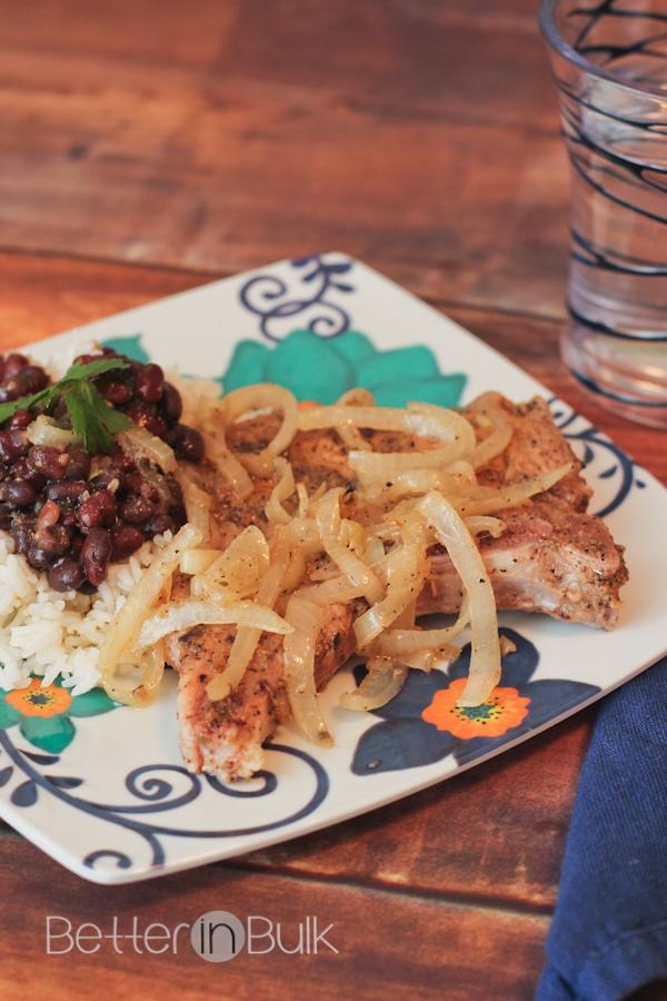 cuban pork chops