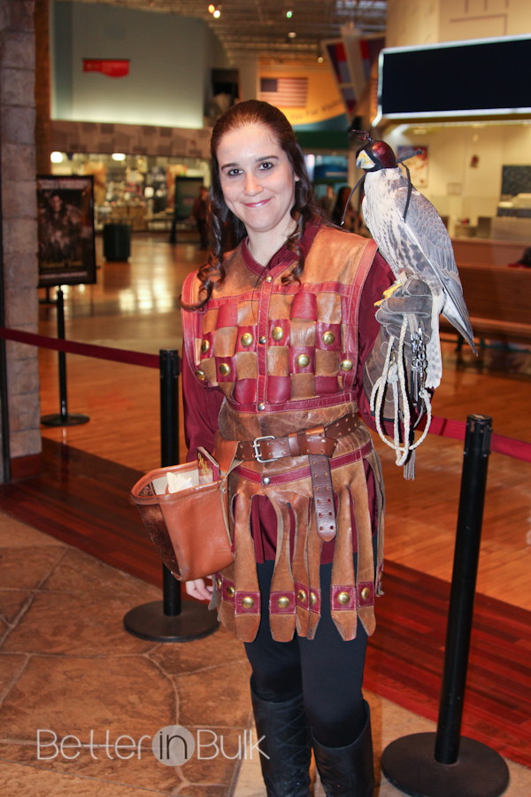 medieval times royal falconer