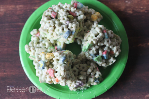 lucky charms treats for st. patrick's day