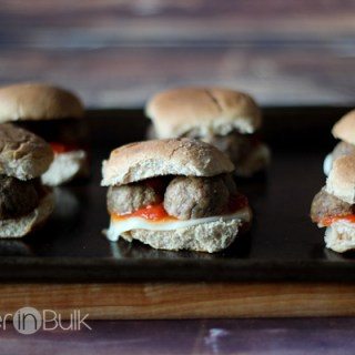 meatball sliders #15MinuteSuppers