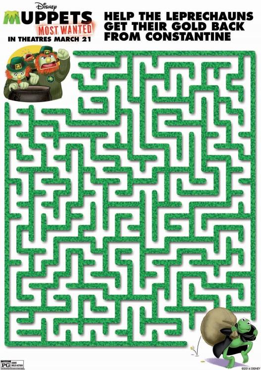 Muppets Leprechaun Maze