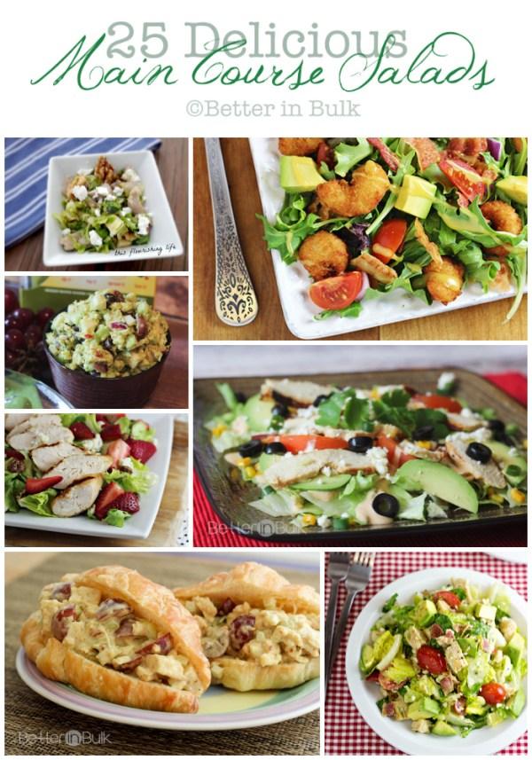 25 delicious main course salads