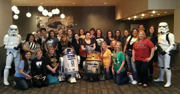 star wars day group pic
