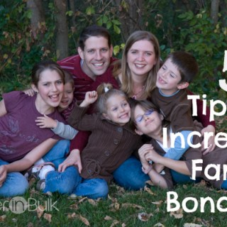 5 Tips to Increase Family Bonding