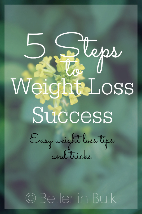 5 steps to weight loss success