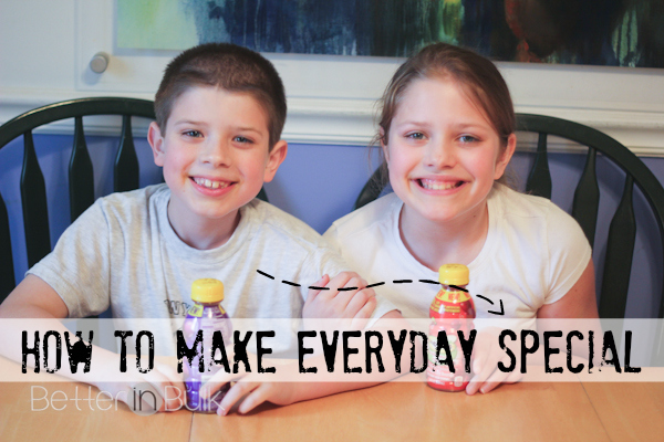 how to make everyday special