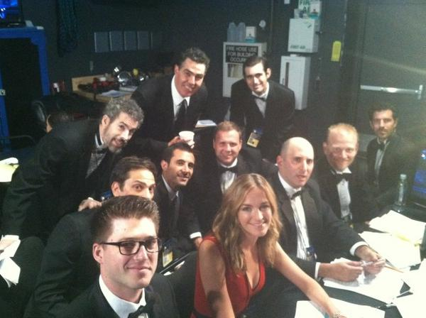 JIMMY KIMMEL LIVE - Molly & her fellow writers