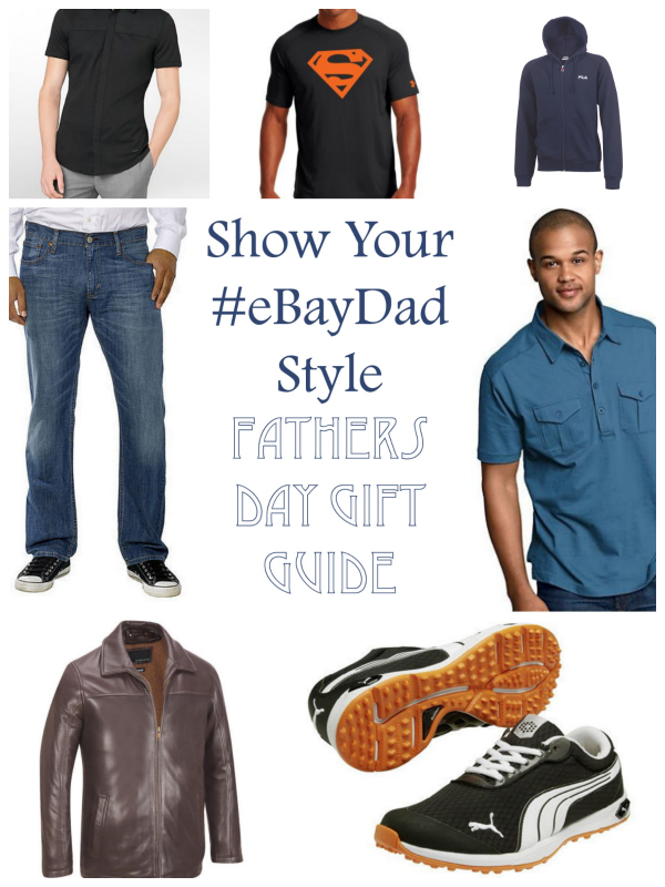 Show your #ebaydad style fashion gift guide for Father's Day