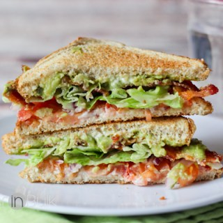 Loaded Guacamole BLT Recipe #15MinuteSuppers