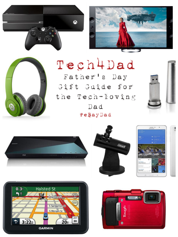 Father's Day tech gift guide #ebaydad