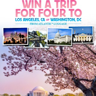 Win a Family Trip for Four with #AtlanticLuggage