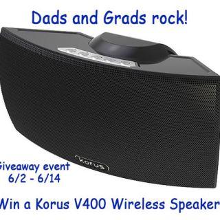 Korus speaker giveaway