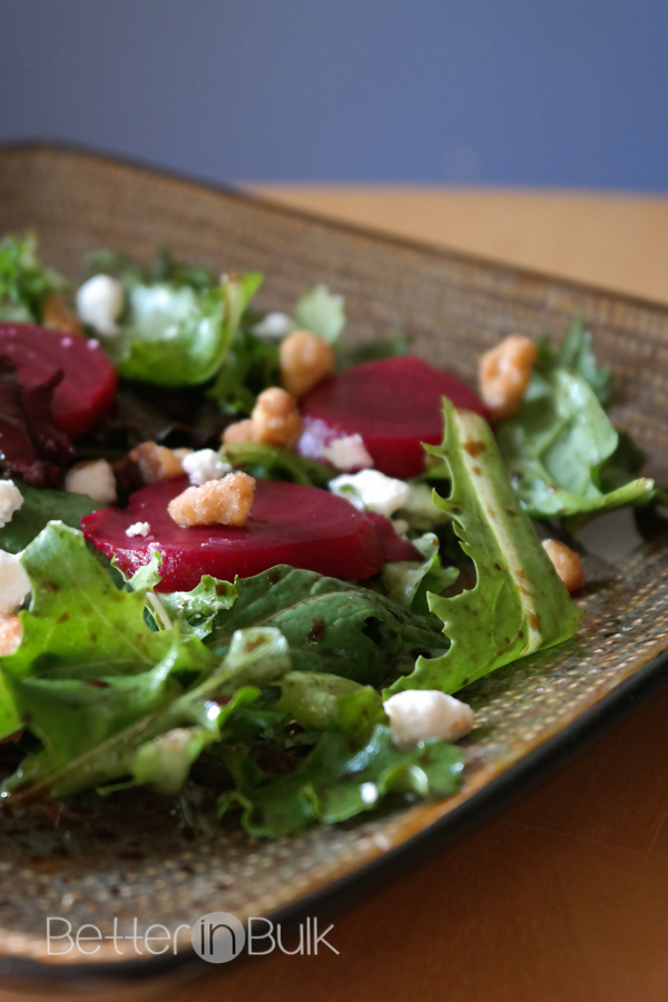 goat cheese and beet spring salad goat cheese and beet spring salad