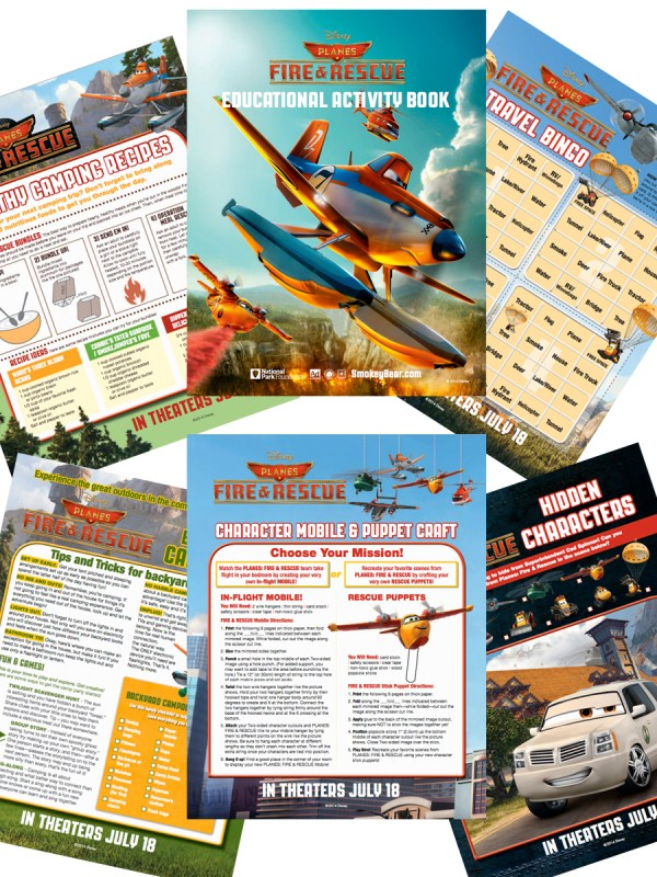 Planes Fire and Rescue Activity Kit