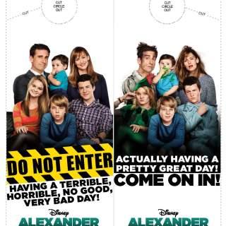 Alexander and The Terrible, Horrible, No Good, Very Bad Day Activity Sheets