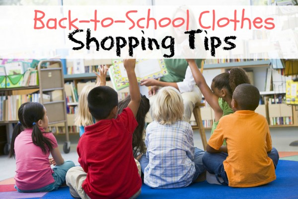 back to school clothes shopping tips