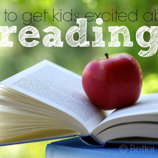 how to get kids excited about reading