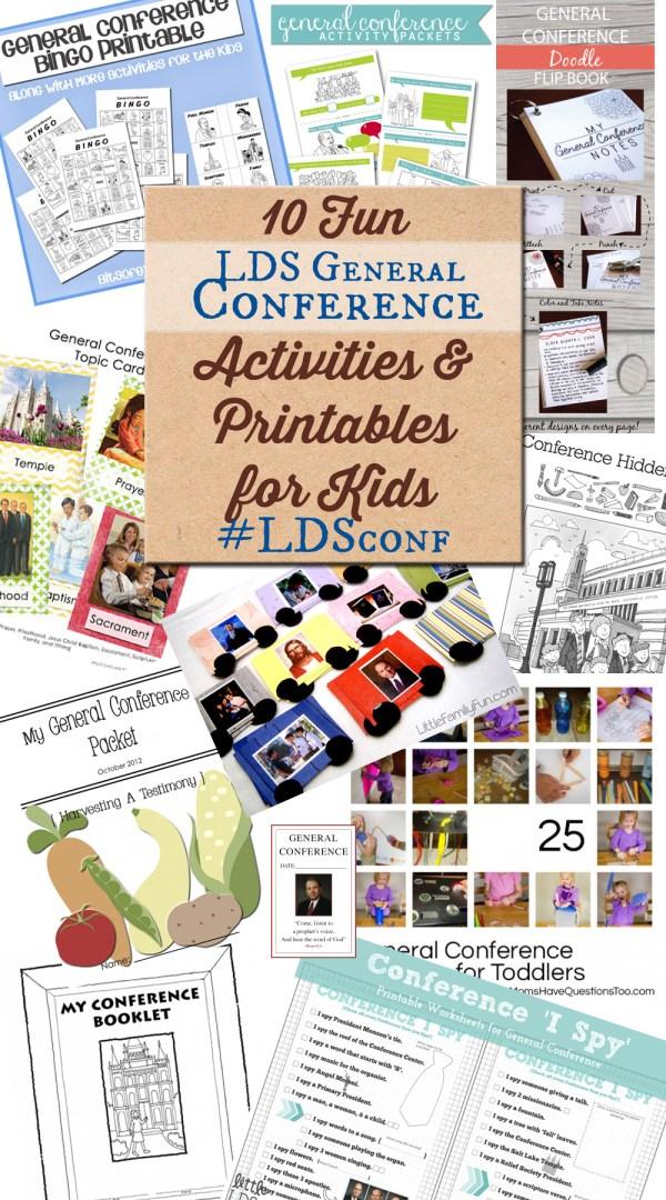10 General Conference Activities #LDSconf