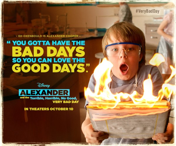 Alexander and the Terrible, Horrible, No Good, Very Bad Day kids