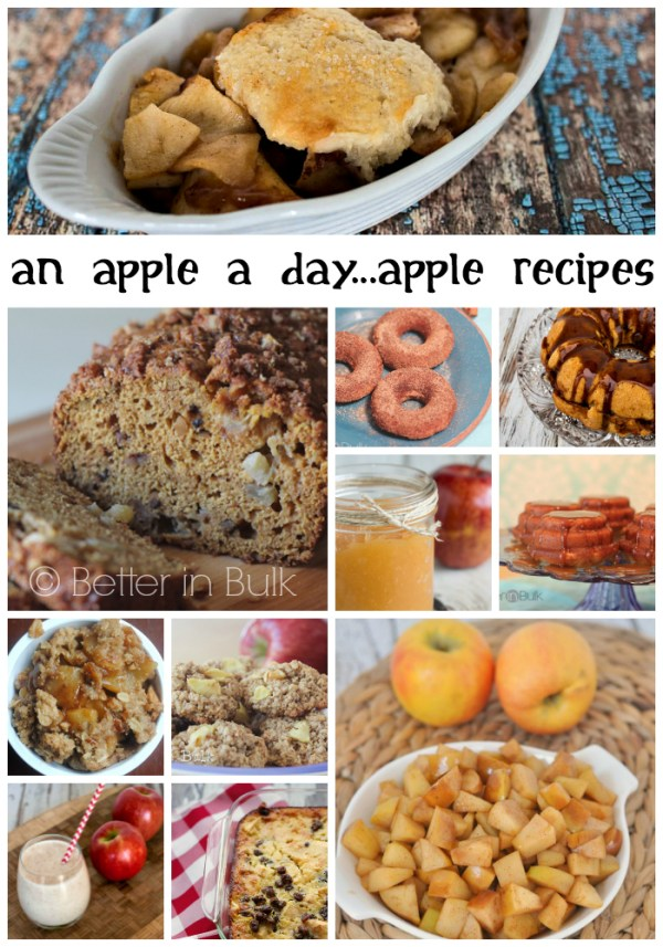 An apple a day - apple recipes